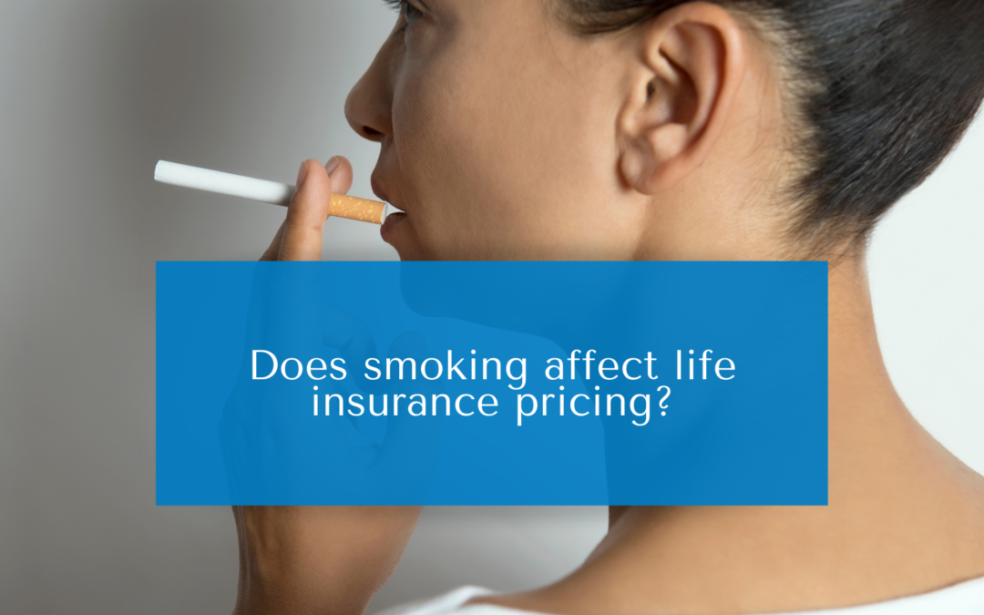 Does smoking affect life insurance pricing?
